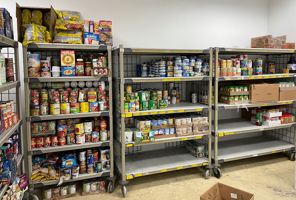 photo of food pantry at She Believes in Me